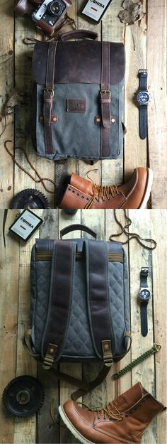 Leo Rucksack/Backpack - By Savage Supply Co. Only $139.00