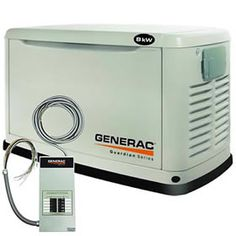 Generac Guardian™ 8kW Standby Generator System (50A 10-Circuit Automatic Switch) Model 6237