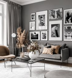 Gallery Wall Inspiration - Shop your Gallery Wall Home Living Room, Living Room Designs, Living Room Decor, Beige Living Rooms, Bedroom Decor For Small Rooms, Diy Bedroom Decor, Home Decor, Wall Decor, Inspiration Wall