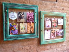 Eclectic use of frames must try проекты, декор, украшения. Gallery Wall Frames, Frames On Wall, Craft Stick Crafts, Diy And Crafts, Diy Projects With Old Windows, Cuadros Diy, Vintage Diy, Vintage Frames, Black Decor