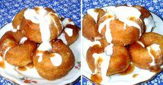 turofankot-cukros-vanilias-tejfollel-es-lekvarral-a-fank-erdelyi-recept Cheesecakes, Doughnut, Pancakes, Food And Drink, Snacks, Cookies, Breakfast, Crack Crackers, Morning Coffee