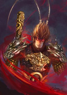 Image result for monkey king sun wukong
