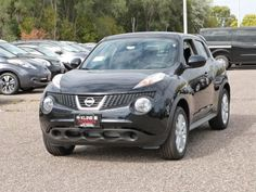 Check out this sporty 2013 Nissan Juke SV available at Kline Nissan in Maplewood, MN.    #Nissan #Juke #newcar #Minnesota