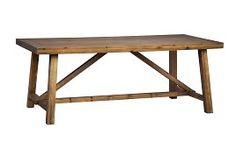 Köp Matbord Vermont Vaxad Vintage Grå hos Chilli. Hos oss får du hög kvalitet till bra pris. Handla fraktfritt med snabb leverans direkt till dörren - Välkommen!