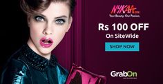 HURRY! Exclusive Offer On #Nykaa Products. Get Flat Rs 100 Off On Rs 1000. http://www.grabon.in/nykaa-coupons/ #SaveOnGrabOn