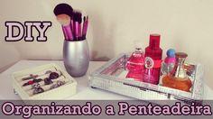 ♥ DIY: Como Fazer uma Bandeja Espelhada, um Porta Anéis e Porta Pincéis ...