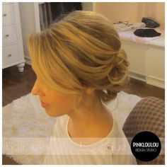 Bridal hair, wedding hair, updo by joann Formal Hairstyles, Bride Hairstyles, Pretty Hairstyles, Simple Hairstyles, Bridesmaid Hair, Prom Hair, Prom Updo, Wedding Hair And Makeup, Hair Wedding