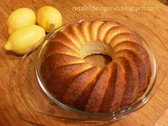 Retales de ingenio: Recetas y Dietética: Bizcocho de limón