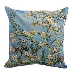 Χώρα Little Flowers Βαμβάκι / Λευκά Είδη Διακοσμητικά Pillow Cover – EUR € 10.99