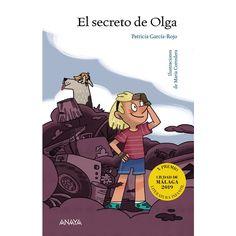 El secreto de Olga / Patricia García-Rojo ; ilustraciones de María Corredera. Olga vive en un futuro no muy lejano, donde la Tierra es un enorme basurero en el que la vida apenas sobrevive y los espacios naturales son santuarios protegidos que no pueden tan siquiera visitarse. Quiere ayudar a su hermana, que sufre una enfermedad pulmonar a causa de la contaminación, y cree que el único que puede salvarla es el espíritu del bosque, que vive en la cima de la montaña. Anaya, Comic Books, Family Guy, Comics, Memes, Cover, Fictional Characters, Products, Peek A Boos