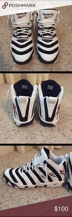 """Reebok """"Big Hurts"""" excellent used condition. worn once or twice. Reebok Shoes Sneakers"""