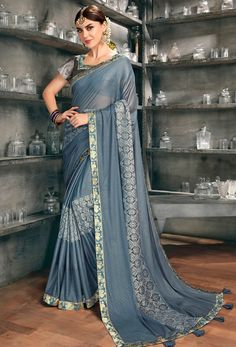 #Net #Sarees is one of the #best #indian #ethnic #dress, it is very #classic and #loved by the each and every #womens. #Nikvik is the #bestseller of #net #saree in #USA #AUSTRALIA #CANADA #UAE #UK New Fashion Saree, Fashion Outfits, Fashion Trends, Quality Lingerie, Net Saree, Work Sarees, Banarasi Sarees, Indian Attire, Party Wear Sarees