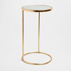 SMALL ROUND HIGH TABLE -  for hallway.