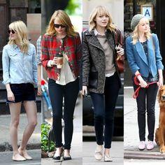 O estilo de Emma Stone
