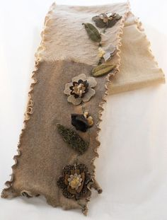 $60 Awesome January Thaw Multi-flower scarf