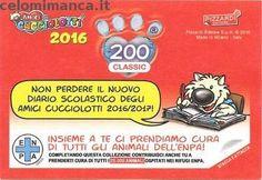 Amici Cucciolotti 2016: Retro Figurina n. 200 Scoiattolo Planatore