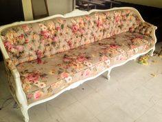sillón para 4 personas vintage