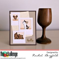 RBergfeld Card Designs: The Challenge #63