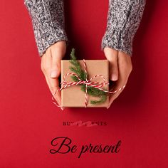 Don't just buy presents but rather BE present! Giving Tuesday, Presents, Gift Wrapping, Holiday, Christmas, Egg Cartons, Instagram Posts, Stuff To Buy, Blessings