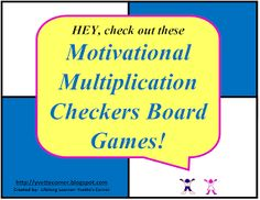 ARE YOU HAVING A HARD TIME GETTING YOUR STUDENTS TO KNOW THEIR MULTIPLICATION FACTS?    Well, I've always had a hard time not only getting them to know and understand their facts, but to apply them in other situations as well.  We all know multiplication facts are the building blocks to learning higher mathematical skills!  Here is a resource design to motivate and aid your students in understanding and applying their facts.