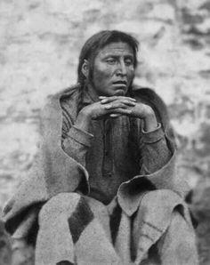 Dakota man at Fort Snelling