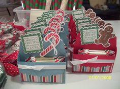 christmas craft fair scallop box chocolates