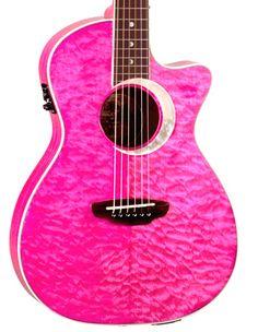 The guitar that started my luna love affair! Music Guitar, Ukulele, Pink Guitar, Luna Guitars, Bass Amps, Beautiful Guitars, Mandolin, Banjo, Musical Instruments
