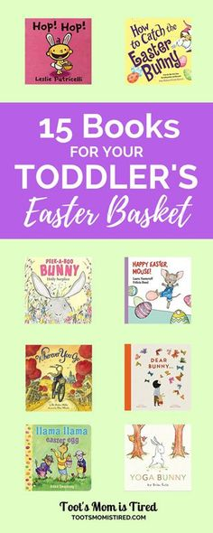 Stock your toddler's Easter basket with books! Here are some great picks for Easter books for toddlers & books about bunnies that can be read all year long. Rabbit Book, Bunny Book, Easter Crafts, Holiday Crafts, Crafts For Kids, Easter Gift, Summer Crafts, Holiday Ideas, Easter Activities