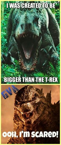 Ha Godzilla always wins