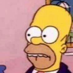 Memes Simpsons, Die Simpsons, Spongebob Memes, Cartoon Profile Pictures, Meme Pictures, Reaction Pictures, Stupid Memes, Dankest Memes, Funny Memes