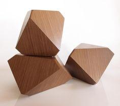 HAL Geometric Side Table