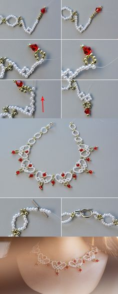 Like this beaded bib necklace? The tutorial will be published by LC.Pandahall.com