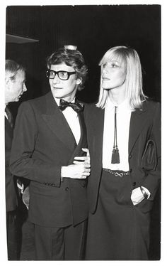 image Betty Catroux & Yves Saint Laurent, a sulphurous statement, a model of modernity