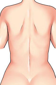 女性特有の要素を強調してセクシーさを演出できる「背中」と「腰」 | 美少女イラストのリアルな肌の塗り方 第7回 – PICTURES Human Drawing, Body Drawing, Anatomy Drawing, Drawing Poses, Manga Drawing, Girl Anatomy, Human Anatomy, Figure Drawing Reference, Anatomy Reference