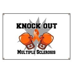 "Knock Out Multiple Sclerosis Banner ""Without struggle there is no progress"" by Tuula joka piirtää Multiple Sclerosis Tattoo, Multiple Sclerosis Awareness, Crps, New Journey, How To Protect Yourself, Art Therapy, Girls Be Like, Breast Cancer, Banner"