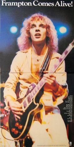 Frampton Comes Alive LP- Everyone wore their vinyls out on this one.
