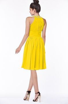4ee6da0ab6b5 ColsBM Liana - Yellow Bridesmaid Dresses
