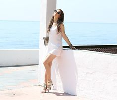 Get this look: http://lb.nu/look/8283221  More looks by Cosmina  M. //mbcos.net: http://lb.nu/mbcos  Items in this look:  Silk Dress   #minimal #romantic #street #fashion #spanishtrends #whiteandgold #glitter #costadelsol #modamujermalaga