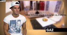 I think I love Garry; even though he is the biggest toss-pot sometimes Mtv Geordie Shore, Geordie Shore Quotes, Charlotte Geordie, Charlotte And Gary, G Shore, Longest Movie, Mtv Shows, Funny Qoutes, Reality Tv Shows