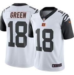 Cincinnati Bengals A.J. Green #18 Color Rush 2016 Limited Jersey