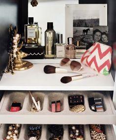 makeup, organize, storage, vanity