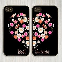 $9.74 AUD - Best Friends Style Flowers Soft Tpu Cover Case For Iphone 5 5S 6S 7 8 Plus X #ebay #Electronics