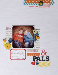 deb duty {photography + scrapbooking}: more layouts from elmwood park