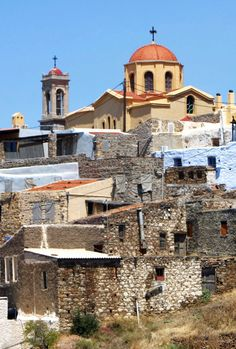 Chios, Greece Chios Greece, Byzantine Icons, Religious Architecture, Greece Islands, 11th Century, Greece Travel, Beautiful Islands, Cityscapes, Bali