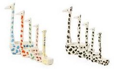 Giraffe measuring spoons from Anthropology - OMG, it's like these were made just for me. Cooking + giraffes = happy Posey
