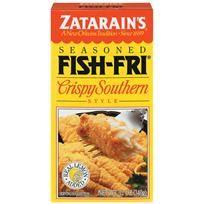 Best zatarains crispy southern fish fri recipe on pinterest for Zatarain s fish fri