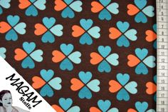 Jersey Stoff Kleeblatt ♥ BIO ♥ von MagaM-Stoffe auf DaWanda.com