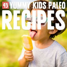 Have trouble getting your kids to love your Paleo meals? Lots of yummy ideas in this huge roundup!