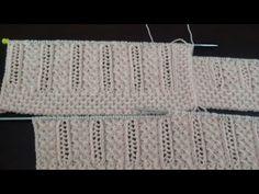 Crochet Baby, Knit Crochet, Knitting Videos, Knitting Designs, Lana, Needlework, Diy And Crafts, Knitting Patterns, Stitch