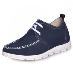 Look for best Blue Men's luxury High heel casual shoes grow  taller 2 Inches with the SKU: MENJGL_C159_2 at Tooutshoes online store